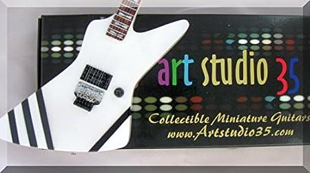 matthias jabs miniature cadre guitare photo scorpions