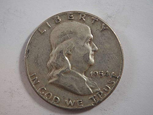 1954 P Franklin Half Dollar Half Dollars Ungraded ()