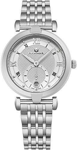 alexander-monarch-olympias-date-silver-large-face-watch-for-women-swiss-quartz-stainless-steel-silve