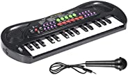 AIMEDYOU Kids Piano Keyboard 32 Keys Portable Electronic Musical Instrument Multi-Function Keyboard Teaching T