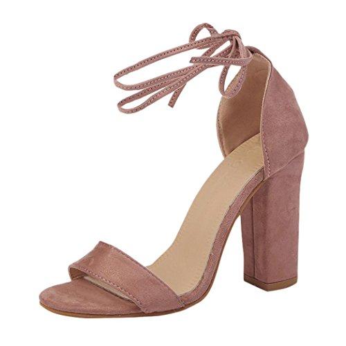 Rosa de Jamicy Tobillo de Sandals Mujer Charol Tira Pqgw4pgTF