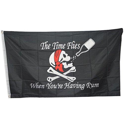 Huge 3x5FT Skull Crossbones Pirate Flags Grommets Halloween (Halloween Inflatables Uk)
