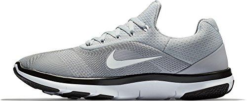 Nike Heren Gratis Trainer V7 Tb Sportschoenen Us) Grijs / Wit