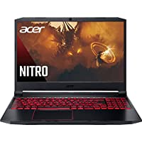 Acer Nitro 15.6inch IPS FHD Gaming Laptop, AMD 6-Core Ryzen 5-4600H Processor Up to 4.0 GHz, 8GB RAM, 256GB SSD, NVIDIA GeForce GTX 1650 Graphics 4GB GDDR6, Backlit Keyboard, Win10 (Renewed)
