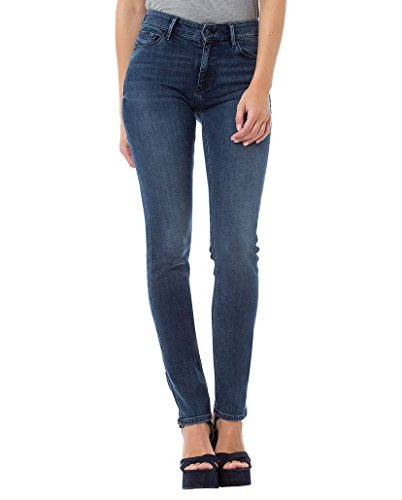 Deep Mujer Jeans p489 Cross 090 Anya Para Blue tCqxCwOI4