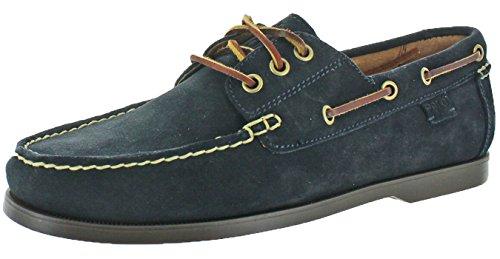 Polo Ralph Lauren Men's Bienne II Boat Shoe, Dark Navy, 9.5 D - Us Lauren Outlet Ralph
