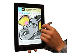 Navitech Capacitive Stylus, Styli Touchscreen Smart Phone & Tablet Pen For The For The Sony Tablet S & Sony Tablet P (Ideal for the app Draw Something)