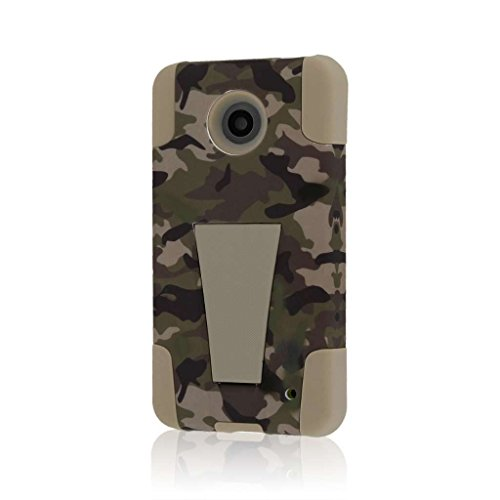 Nokia Lumia 635 Case, MPERO Impact X Series Dual Layered Tough Durable Shock Absorbing Silicone Polycarbonate Hybrid Kickstand Case for Lumia 635 [Perfect Fit & Precise Port Cut Outs] - Hunter Camo (Best Phone In Nokia Lumia Series)