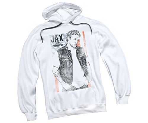 Jax Is My President -- Sons Of Anarchy Adult Hoodie Sweatshirt, Medium