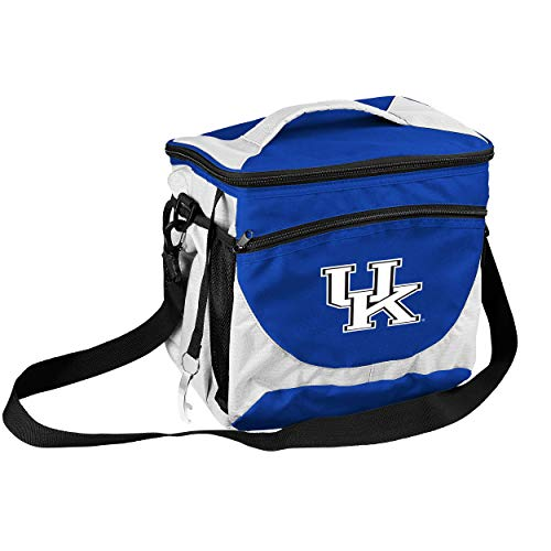 (NCAA Kentucky Wildcats 24-Can Cooler with Bottle Opener and Front Dry Storage Pocket )