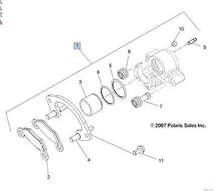 Amazon Polaris 2009 2018 Sportsman Xp 550 Brake Caliper