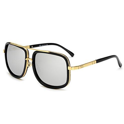de Varón de Gafas Hombres Gafas Sol para Gafas JY1828 Sunglasses JY1828 TL Square Sol Mujeres Sol C6 Mujer de Mujer C7 Hombre fYqaO5wWSz