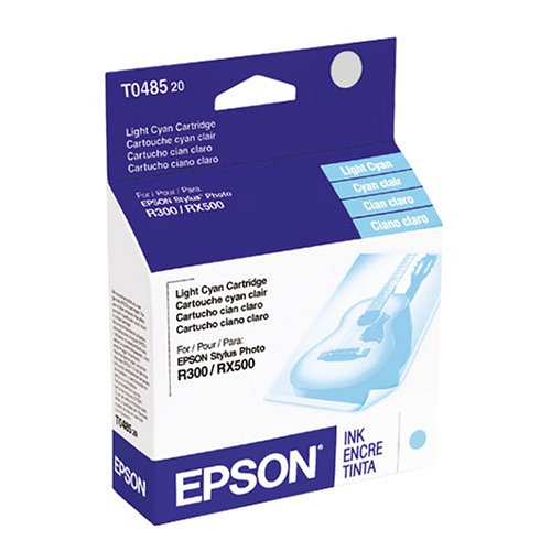 Epson T048520 48 Inkjet Cartridge-Light Cyan