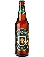 Baron's Strong Brew Lager Beer Quart Bottle, 633ml