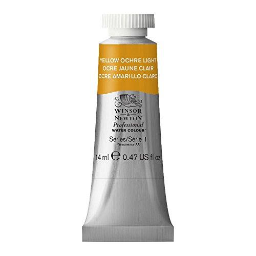 (Winsor & Newton Professional Water Colour Paint, 14ml tube, Yellow Ochre Light)