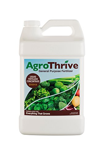 AgroThrive Organic General Purpose Fertilizer (1 - Organic Fertilizer Liquid