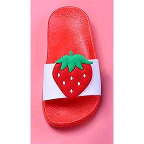 Intérieure Salle Peep Anti Rouge Femmes Accueil Sandales Plat De Plage Diapo Slip Bain Toes Tongs Chaussons Pvc Chaussures Souple pqw8AHq
