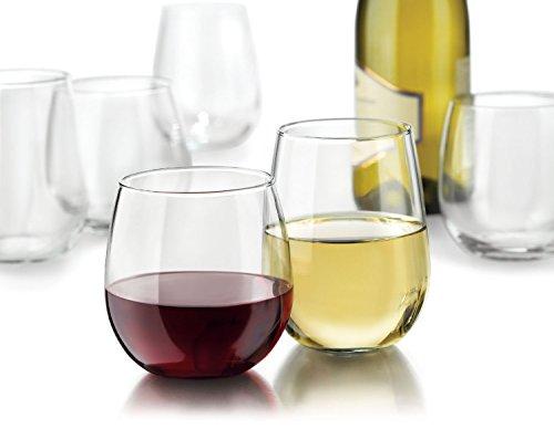 Libbey Vina Stemless Wine Glasses