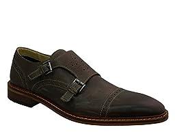 Giorgio Brutini Men\'s Rapide Slip-on Loafer, Gray, 8.5 M US