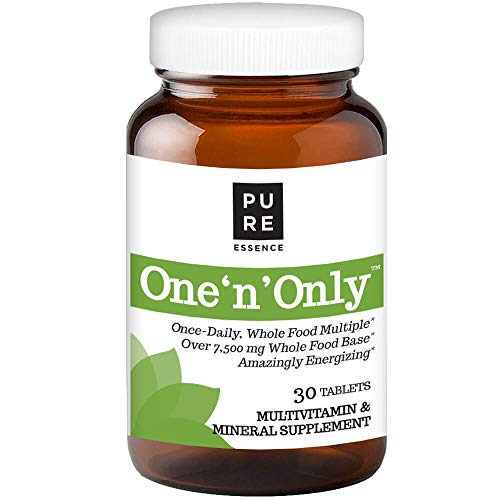 Pure Essence Labs One 'n' Only - World's Most Energetic One Daily Multiple - 30 Tablets