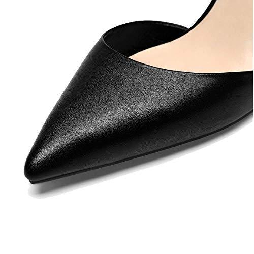 Pointues Hauts Mode ZPEDY Beige Confortable Femmes Polyvalent Simple Dentelle pour Talons Chaussures wqqFxX7t
