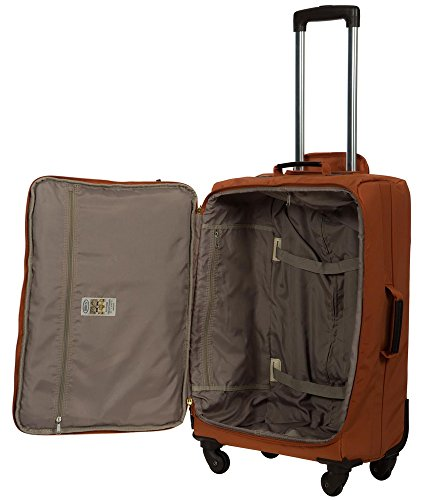 X Trolley Bric's Orange travel brown qCwEdHxE