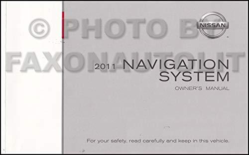 2011 Nissan LCN Navigation System Owners Manual Original