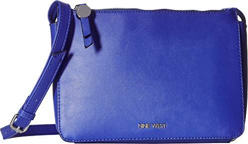 Nine West Women's Nylah A-List Crossbody Blue Iris One Size
