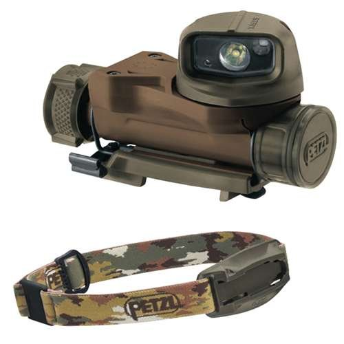 Petzl STRIX VL tactical headlamp Camo