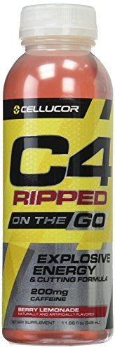 Cellucor C4 Ripped On The Go Berry Lemonade, 12 Count For Sale