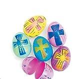 Deluxe: Christian Easter Themed Easter Egg Hunt Eggs for Kids 72 Eggs