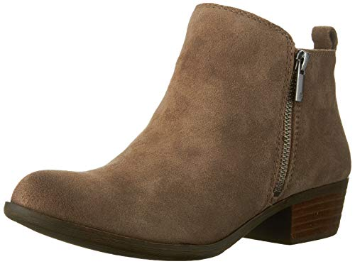 Lucky Brand Women's Basel Ankle Boot, Brindle, 8 Medium US