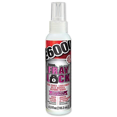 E6000 565204 Fray Lock Adhesive - 4 fl oz Shelf Bottle