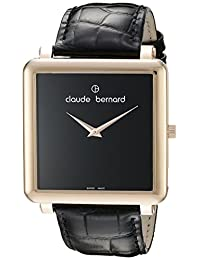 Claude Bernard Women's 20063 37R N Dress Code Analog Display Swiss Quartz Black Watch