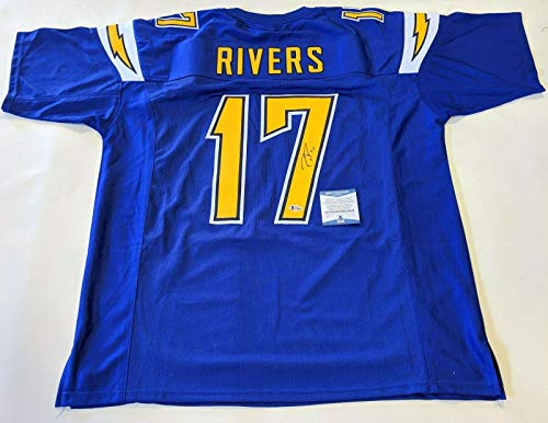 (Philip Rivers Signed Jersey - PHILLIP BECKETT WITNESSED COA #M93403 - Beckett Authentication - Autographed NFL Jerseys)