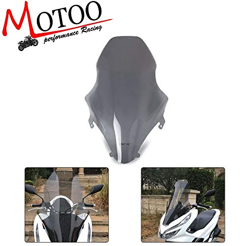 Motorcycle Windshield ABS Windscreen Wind Deflector For Honda PCX125 PCX 125 150 2018 2019