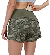 Lingswallow Running Shorts for Women - 2 in 1 Quick-Dry Athletic Workout Running Yoga Hiking Shor...