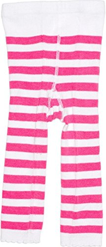 Pink & White Striped Baby Leggings from Sourpuss Clothing,12-18 Months -