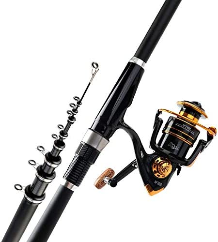 1.9M Stainless Steel Foldable Fishing Rod Holder Portable