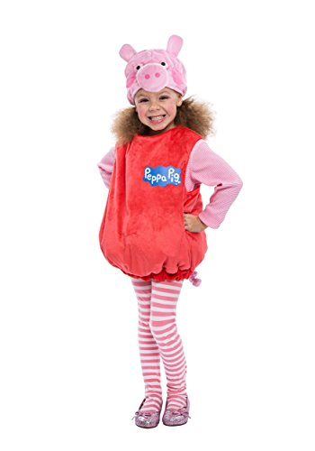 Peppa Pig Bubble Dress Costume, 3-4T