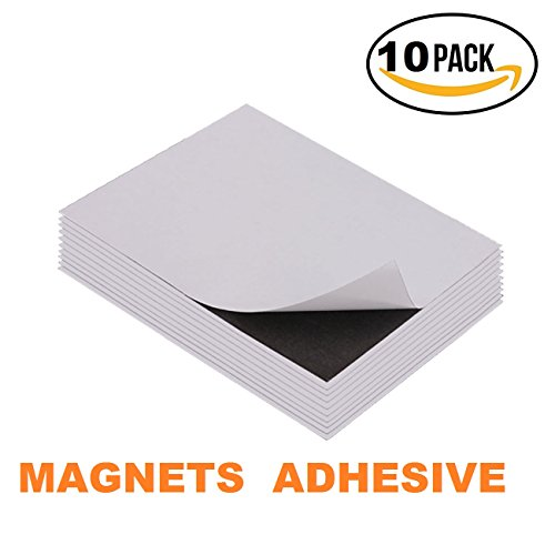 "⚡Corneria 10 Pack 8X10"" Adhesive Magnetic Sheets 20mil Magnets Sticker-Perfect for DIY Dies Craft Projects⚡"