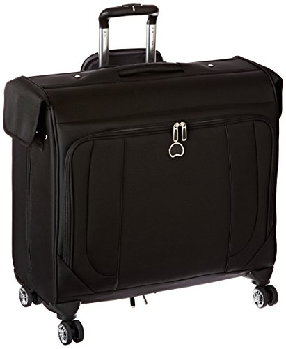 Delsey Luggage Helium Cruise Spinner Trolley Garment Bag, Black, One Size by DELSEY Paris