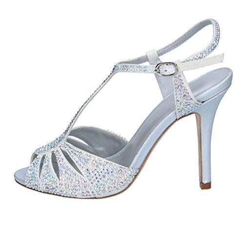 Schwarz EU Größe Sandalen Damen Silber LOLA 36 Silber CRUZ Hav7qXZ