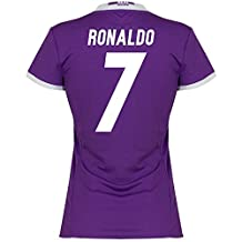 Real Madrid Away Womens Ronaldo Jersey 2016 / 2017 (Fan Style Printing) - XS