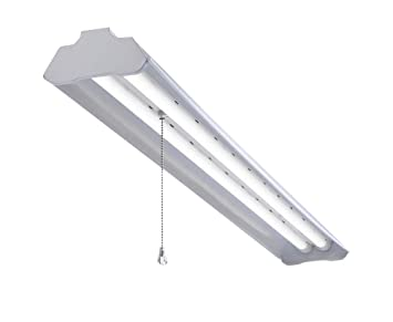 Led Shop Light For Garages Small Warehouses And Shops 4 Foot With Plug