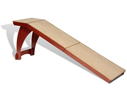Solvit Wood Bedside Ramp (Dog Ramp Ramp)