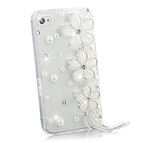 EVTECH(TM) Neue Apple Iphone 6 plus/iPhone 6s Plus (5.5 Zoll) Bling Glitter Diamant Schutzhülle/Transparent Hart Kunststoffe Hülle/strass Etui Schale/Plastik Handytasche/Schale case cover