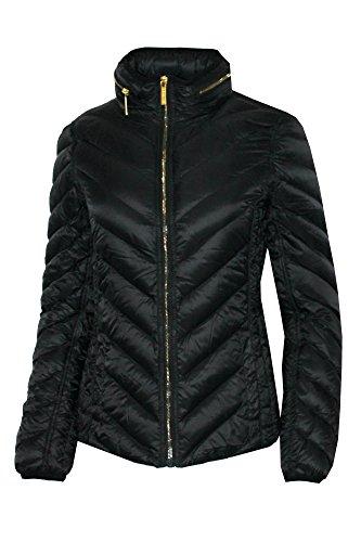 MICHAEL Michael Kors Michael Kors Women's Packable Short Puffer Jacket (L) - Michael Kors Womens Coats