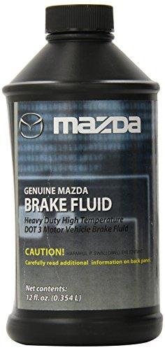 Genuine Mazda Fluid DOT-3 Brake Fluid - 12 fl. oz.