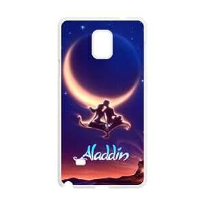 Samsung Galaxy Note 4 Cell Phone Case White Aladdin ztr